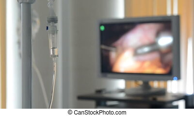 Intravenous dropper surgery - Intravenous drip dropper in...