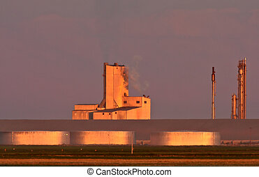 Saskferco potash fertilizer plant in Saskatchewan