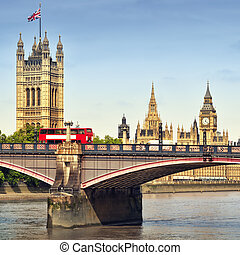Houses of Parliament London. - Houses of Parliament and...