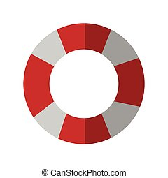 striped float icon