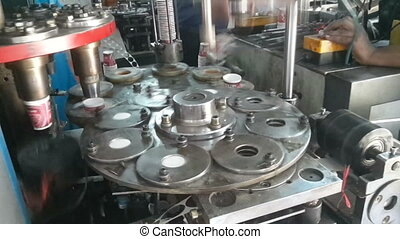 Paper Cups manufacturing process - Industrial Paper cups...