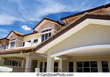 Real Estate - Brand new terraced houses for sale in Malaysia...