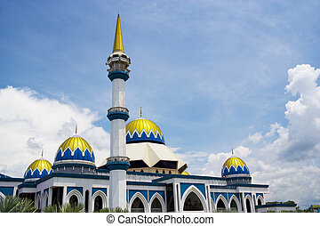 KIPSAS Mosque, Malaysia - Image of KIPSAS Mosque, located at...