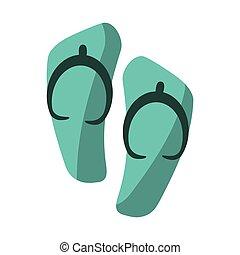 flip flop sandals beach