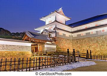 Gate of Kanazawa Castle - Kanazawa, Japan at Kanazawa...