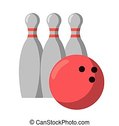 bowling ball pin sport