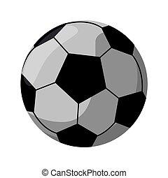 football ball sport play vector illustration eps 0