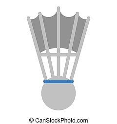 badminton shuttlecock sport game vector illustration eps 10