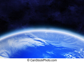 earth - Kind of the Earth from space