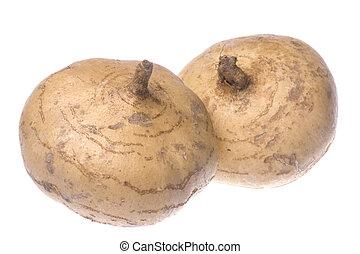 Turnips Isolated - Isolated image of fresh turnips.