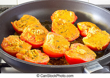 Tomatoes Provencal