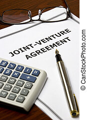 Joint-Venture Agreement - Image of a joint-venture agreement...