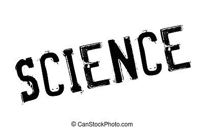 Science rubber stamp