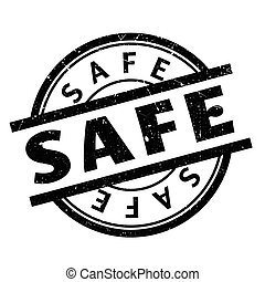 Safe rubber stamp