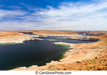 Lake Powell in Glen Canyon National Recreation Area....