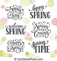 primavera, tempo, fraseio