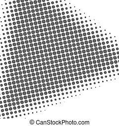 Abstract background with half tone effect, vector...