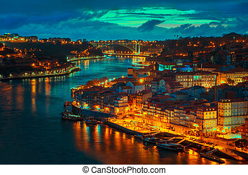 Porto cityview - Oporto view from old town