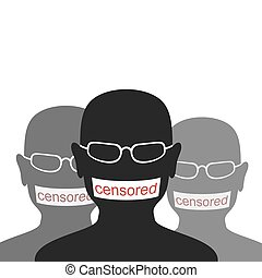 Censored - Composition on Censored. To People Have Stuck a...