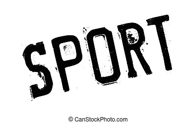 Sport rubber stamp
