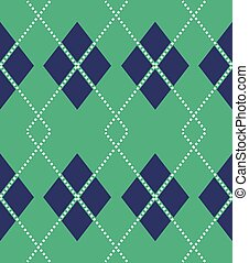 Seamless argyle pattern - Scalable vectorial image...