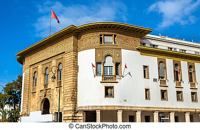 Central bank of Morocco in Rabat - Office of the Central...