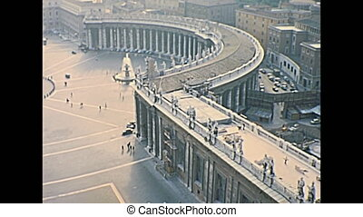 San Pietro aerial view - aerial view of San Pietro Italian...