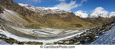 andorra landscape - landscape of mountains in Andorra