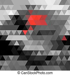 Abstract vector polygons background - Abstract beautiful...