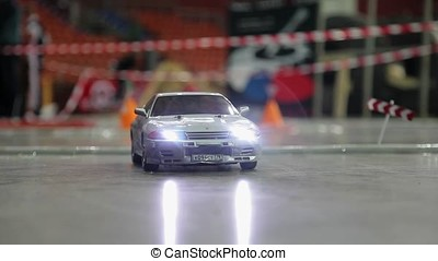 RC drift cars - RC cars drifting on race