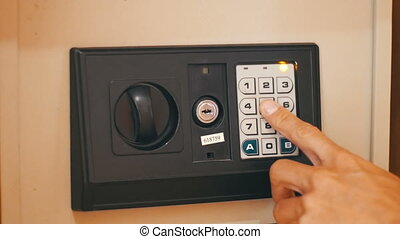 Opening a Safe with Numerical Keypad - Using Code Modern...