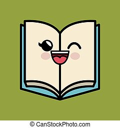 text book character handmade drawing vector illustration...