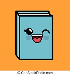 text book character handmade drawing vector illustration...