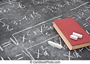 matemático, ecuación