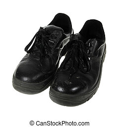 Work Shoes - With the proper work shoes can work safely.
