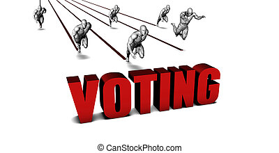 Better Voting with a Business Team Racing Concept
