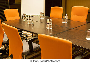 Modern Meeting Room - Image of a modern meeting room.
