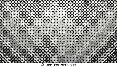 Creative Lattice Metal Background - A creative lattice metal...