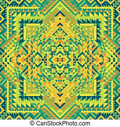 Mexican pattern.