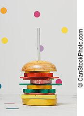 children's toy burger