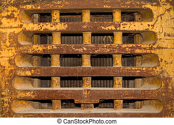 Metal texture - Old rusty metal texture close up photo