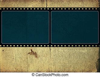 Computer designed highly detailed film frame