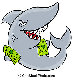 Loan Shark - An image of a loan shark.
