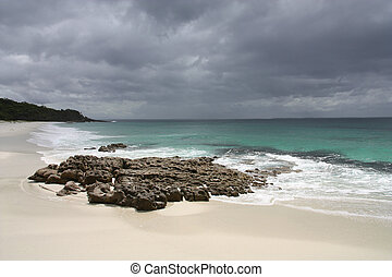 Jervis Bay - Hyams Beach in Jervis Bay, New South Wales,...