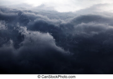 Dramatic Clouds Background - Natural Dramatic Clouds Area...