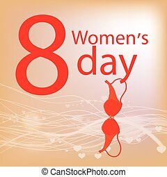women s Day. Underwear. bra hanging