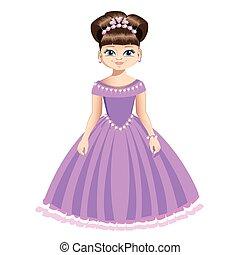 Beautiful princess in jewelry
