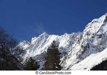 Mountains. Caucasus, Dombay region.