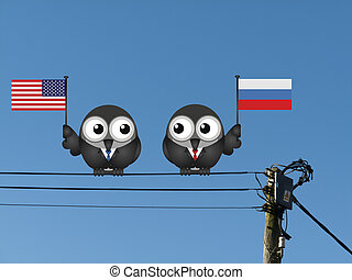 American Russian Leaders