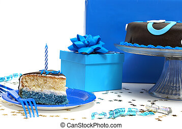 Birthday Party - A scene out of a birthday party with a...